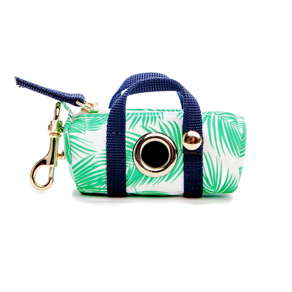 BOULEVARD | Toto Poop Bag Holder in Green Palm