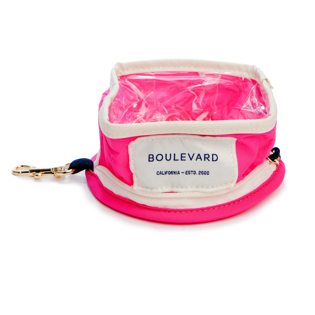 BOULEVARD | Travel Bowl in Hot Pink