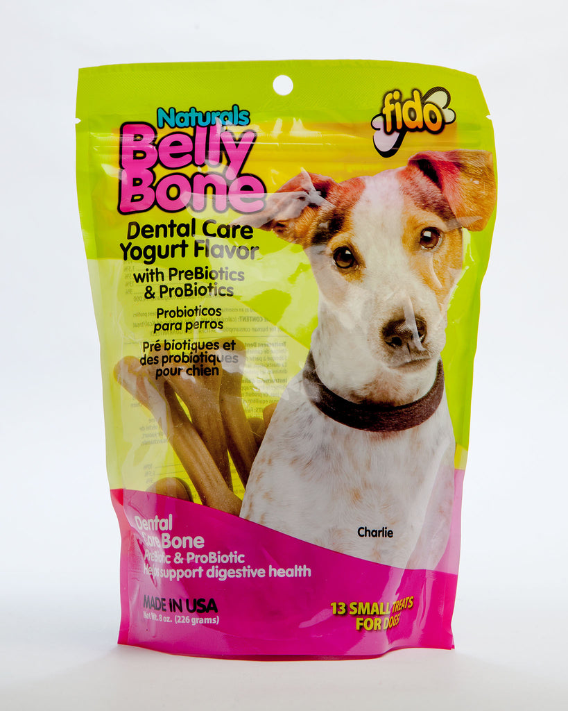 Belly Bones Dog Chews in Yogurt Flavor