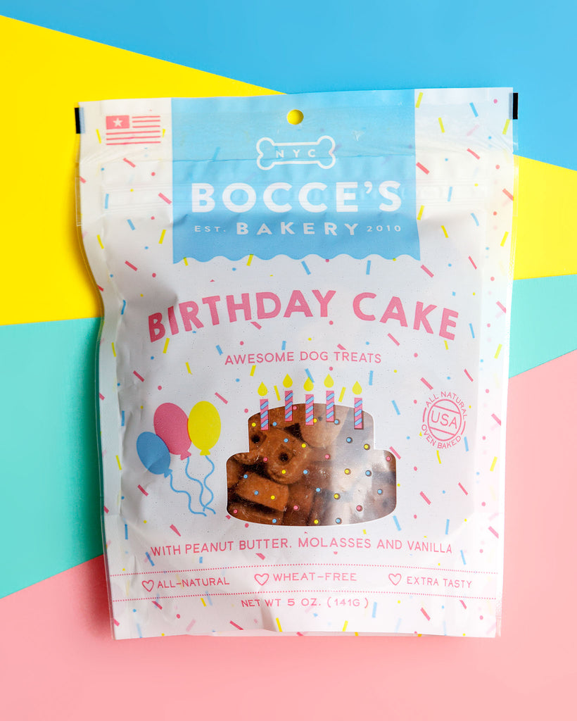 Birthday Cake Dog Treats