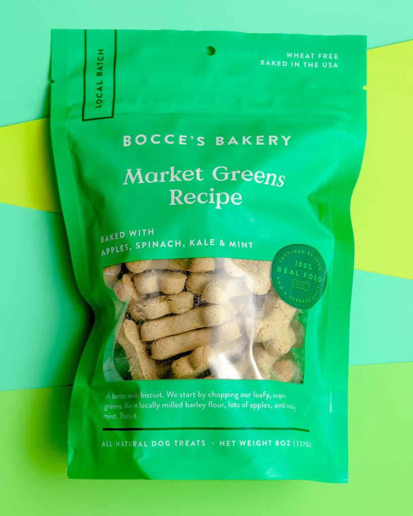 Market Greens Dog Biscuits