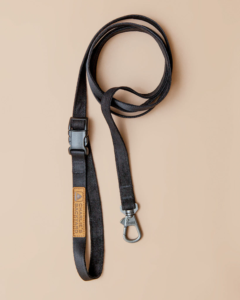 Adjustable Easy Dog Leash in Black