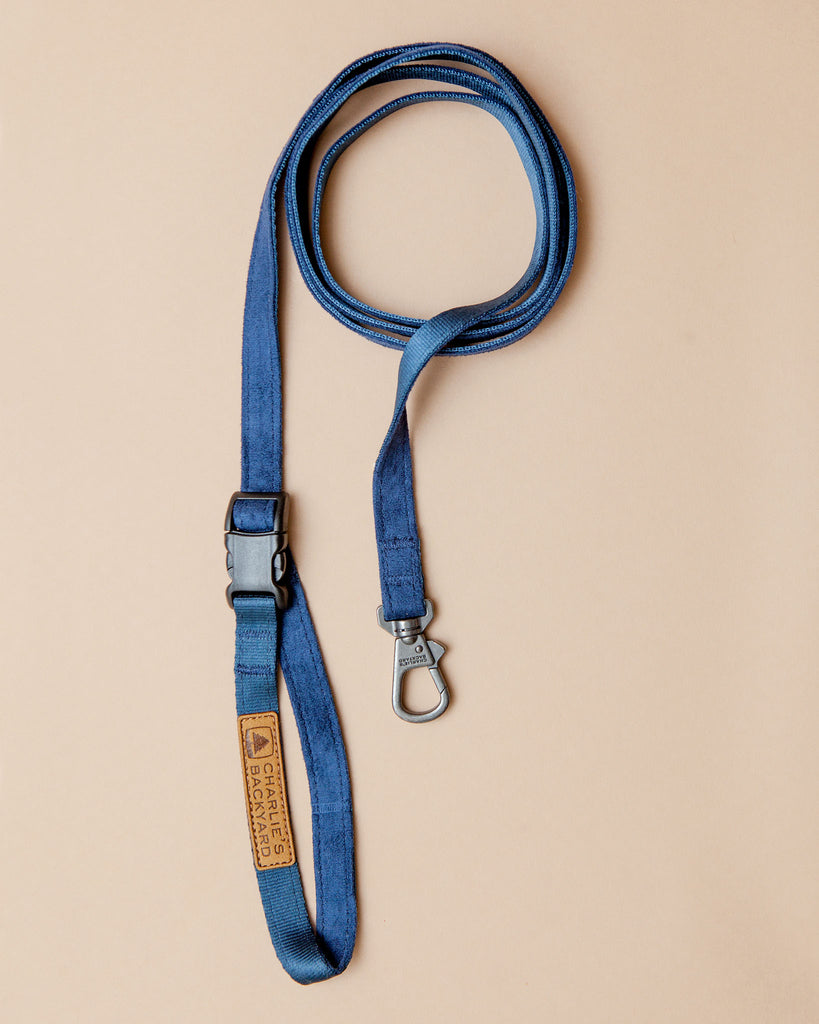 Adjustable Easy Dog Leash in Navy
