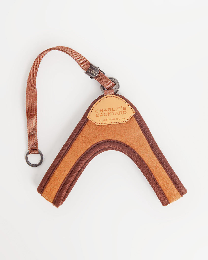 Adjustable Easy Harness in Tan