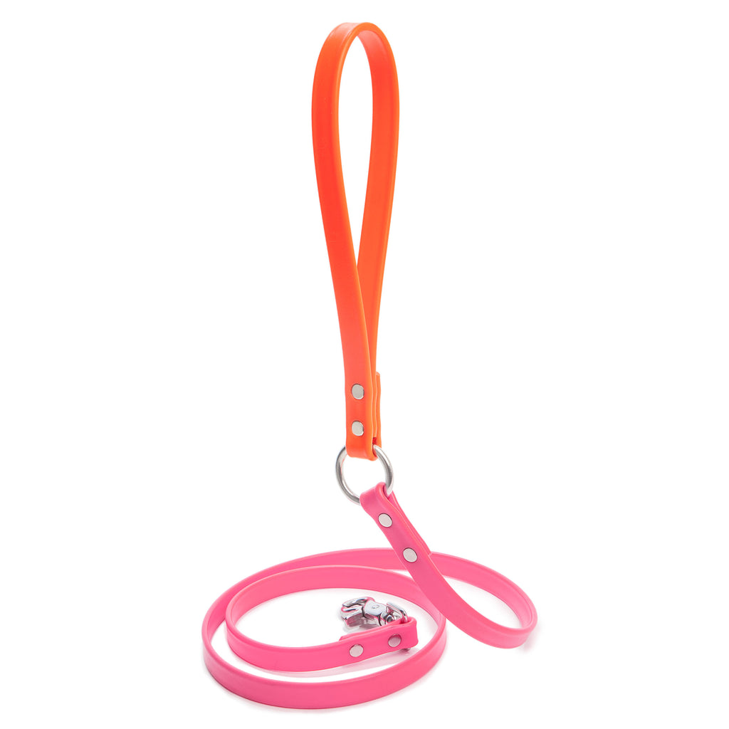 DOG & CO. | City Leash in Pink and Orange