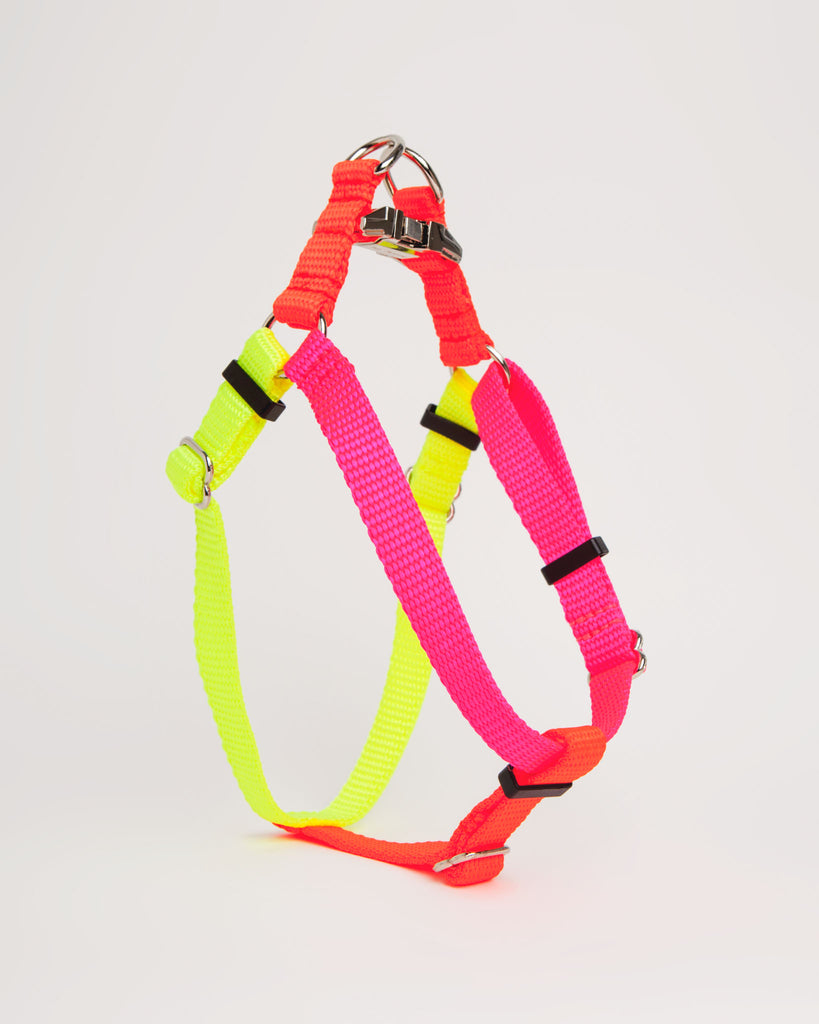 Colorblock Harness in Pink