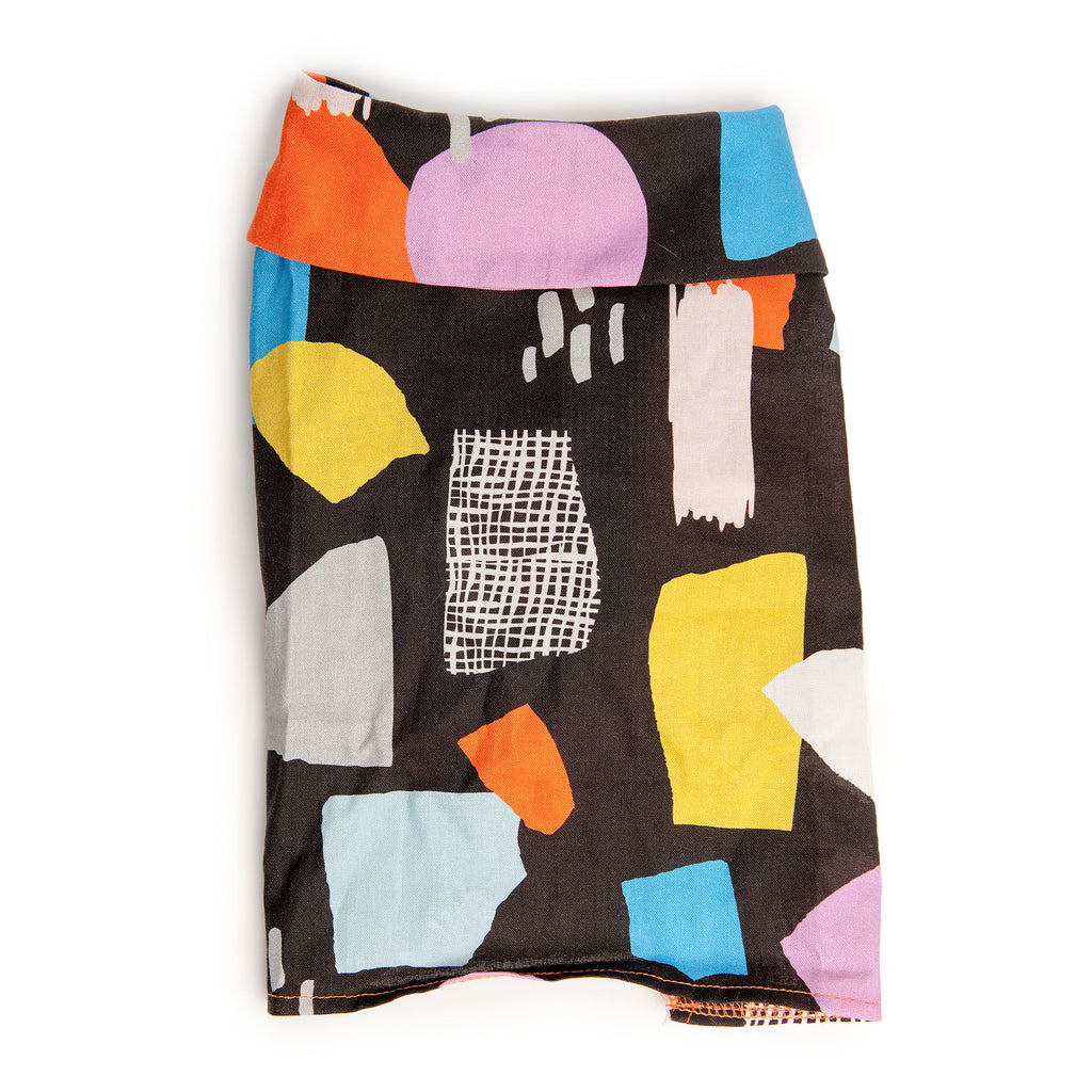 DOG THREADS | Modern Abstract Shirt in Black