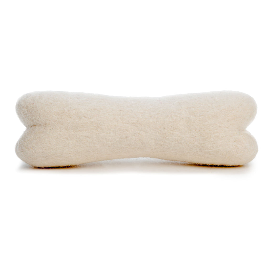 FIBRES OF LIFE | Felted Wool Dog Bone