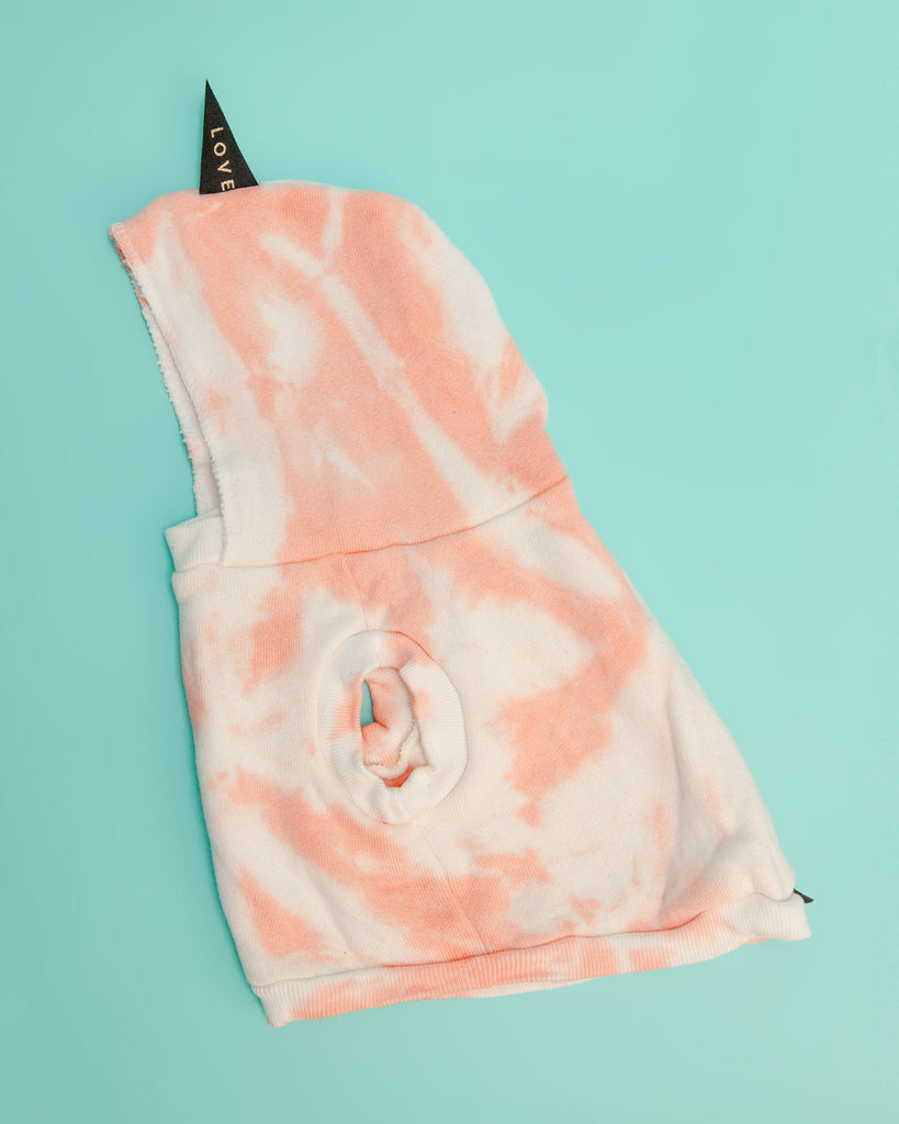 Studio Splatter Sweatshirt in Peach