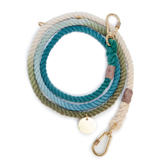FOUND MY ANIMAL | Adjustable Rope Lead in Catskill Ombre