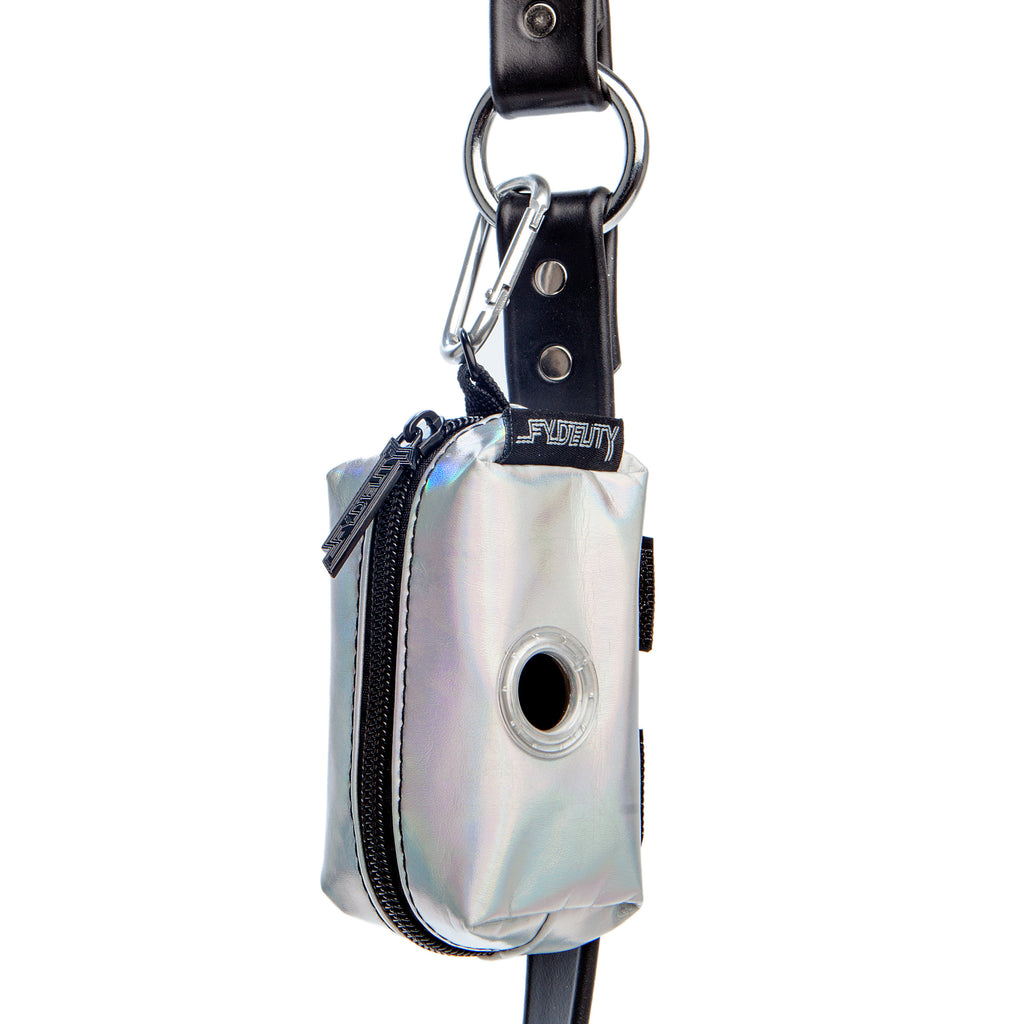 FYDELITY | Poopy Cute Poop Bag Holder in Moonraker Silver