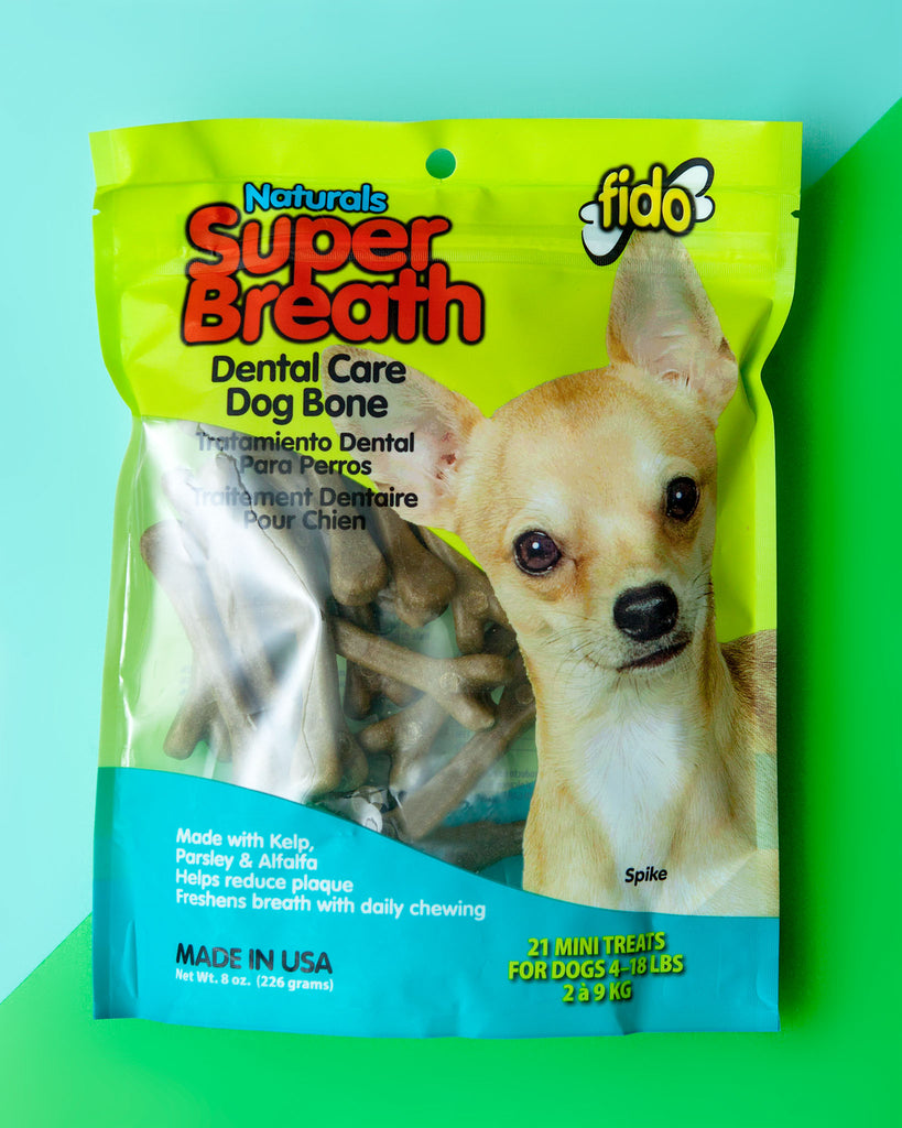Super Breath Dental Care Dog Chew Bones