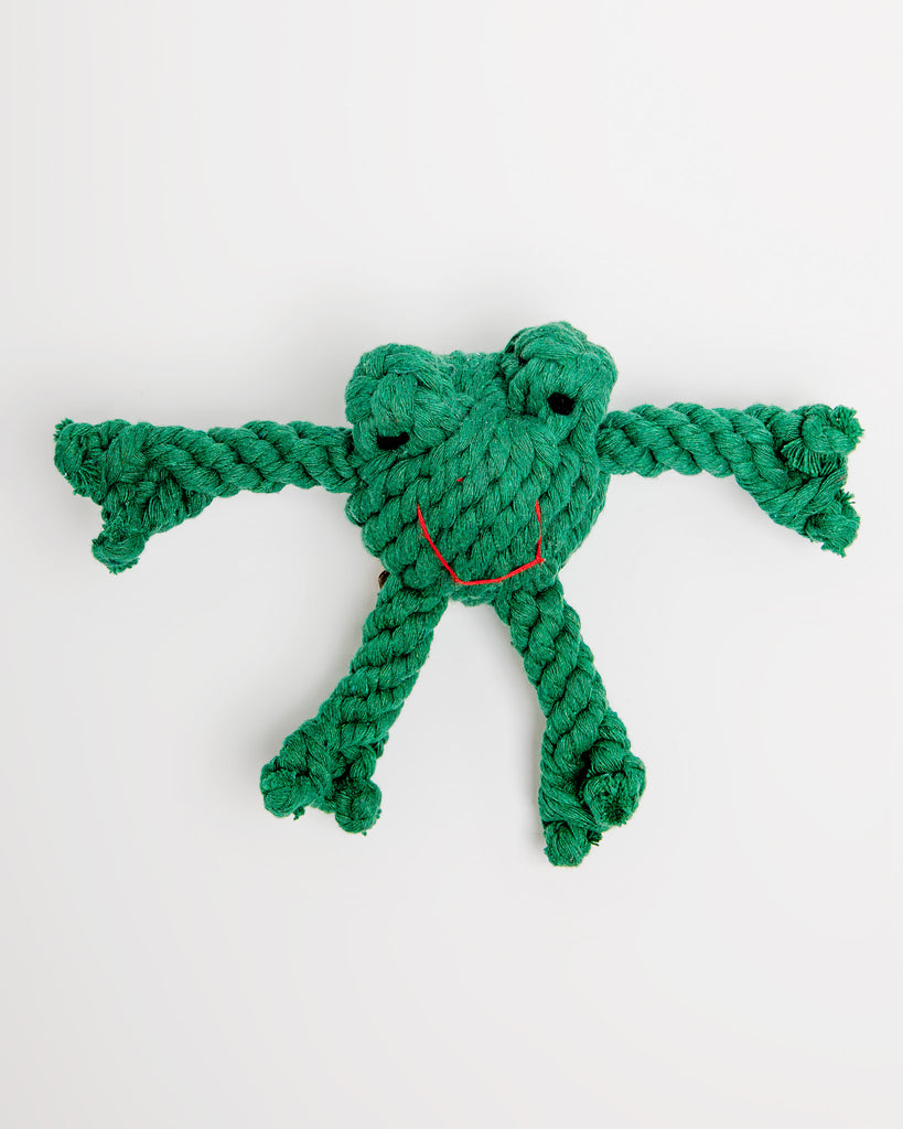 Flip the Frog Rope Toy