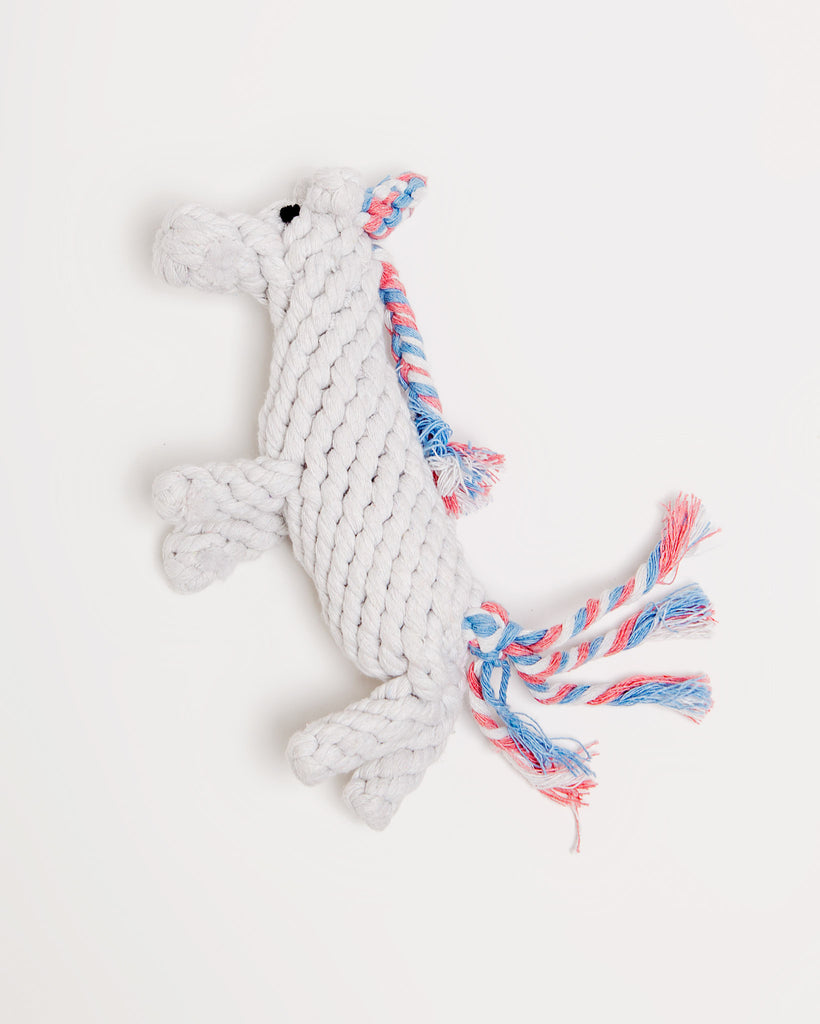 Unicorn Rope Toy