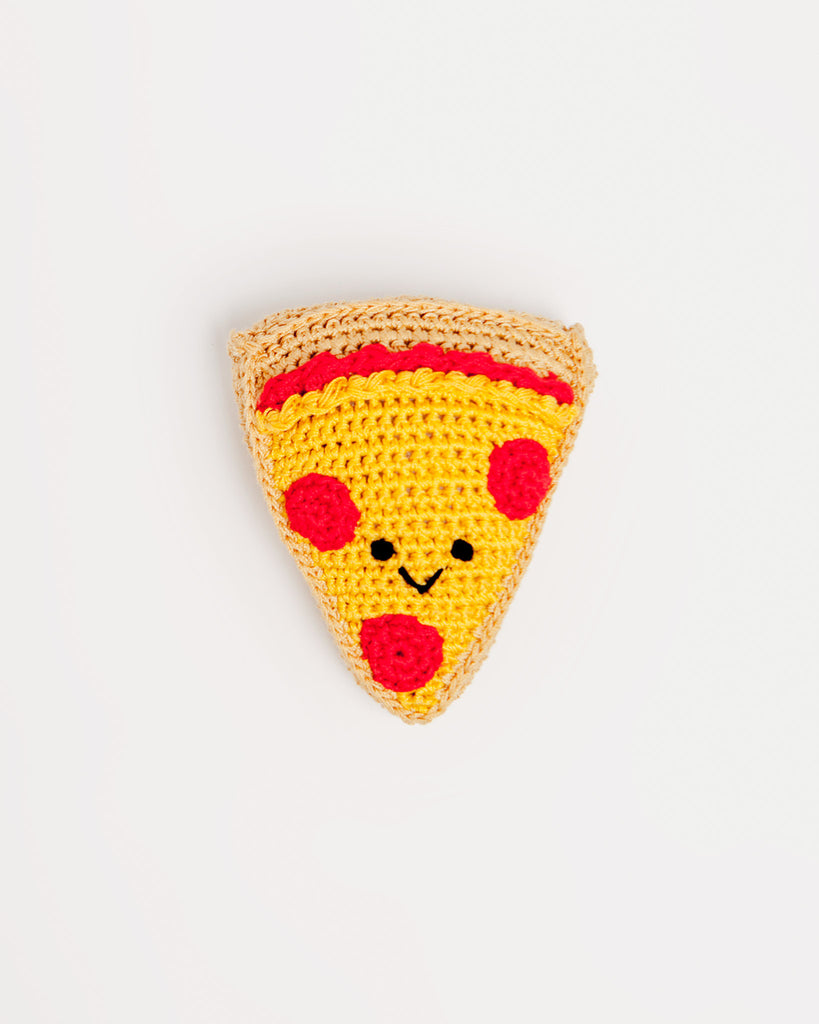 KNIT KNACKS | Pizza Organic Knit Toy