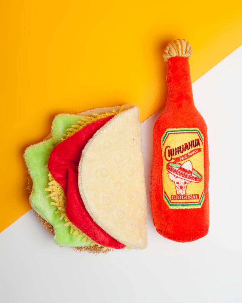 Plush Taco Toy (Immediate Ship)