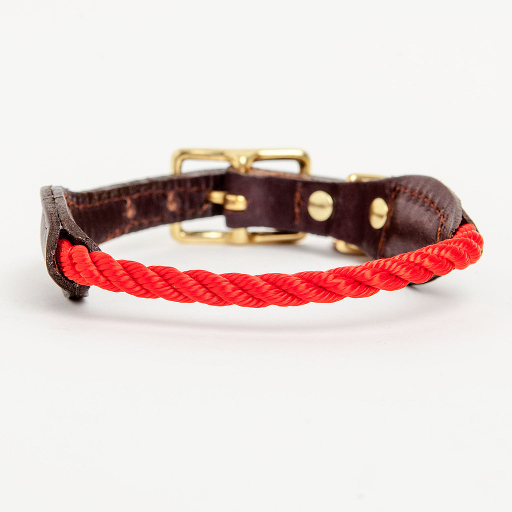 Rope Collar in Red (FINAL SALE)