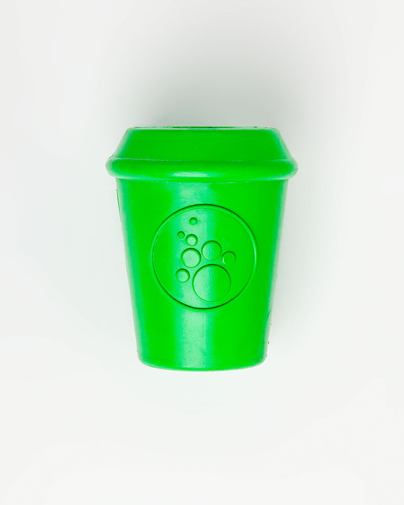 Durable Coffee Cup Toy in Green (Large)