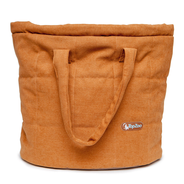 TOPZOO | Oval Bed Bag in Jujube