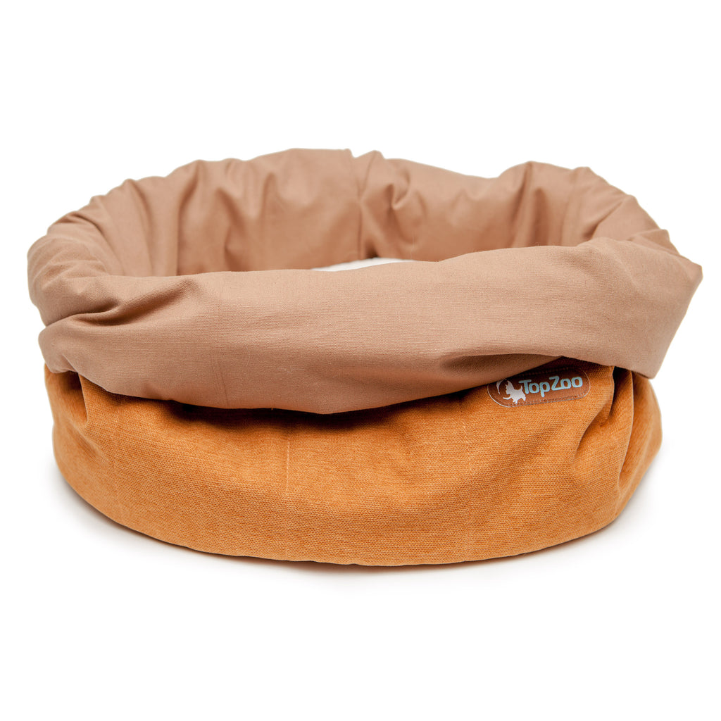Oval Bed Bag in Jujube