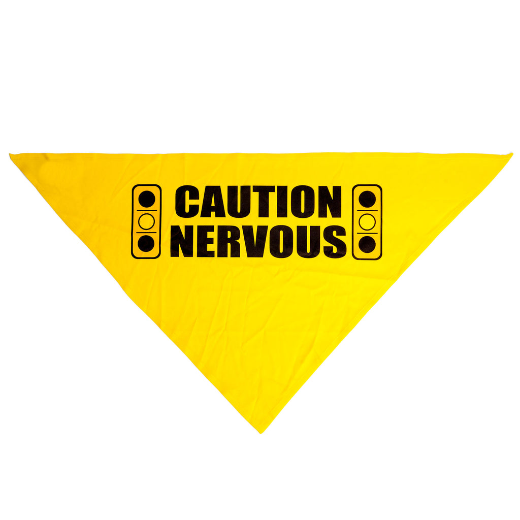 YELLOW DOG DESIGN | Caution Nervous Light Bandana