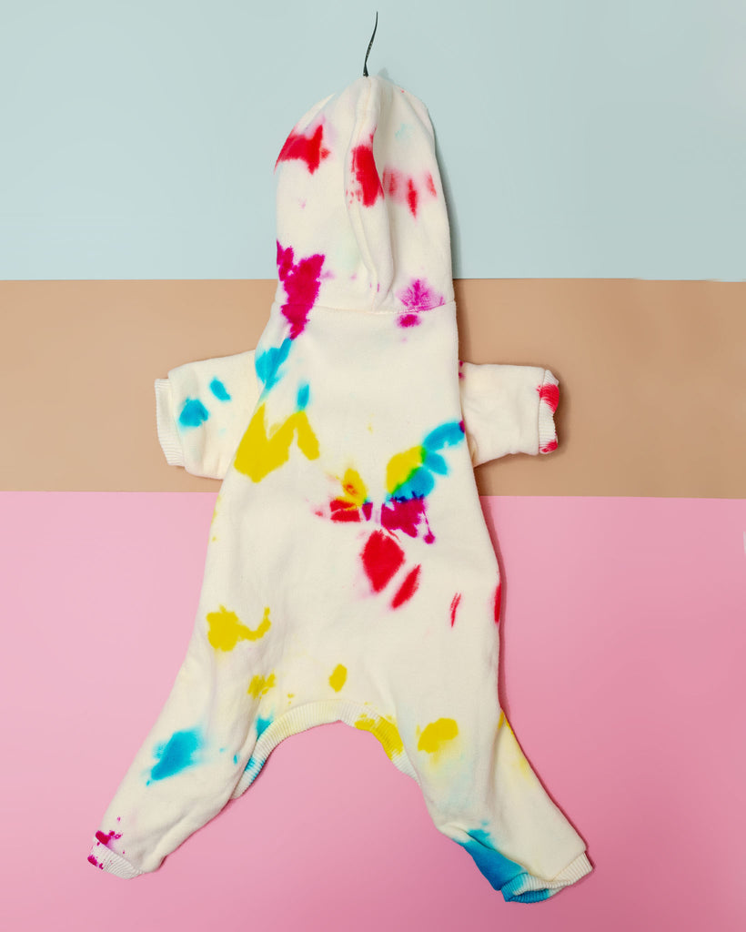Studio Splatter Dog Onesie in Prismatic