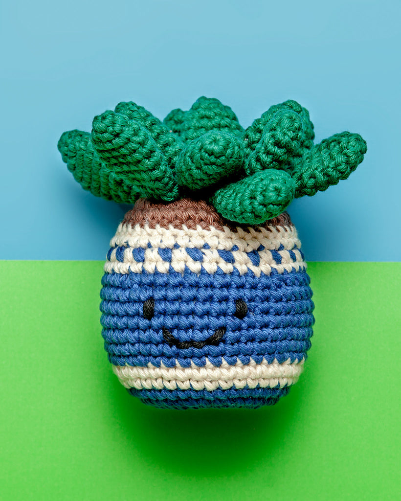 Hand Crochet Potted Plant Toy (Immediate Ship)