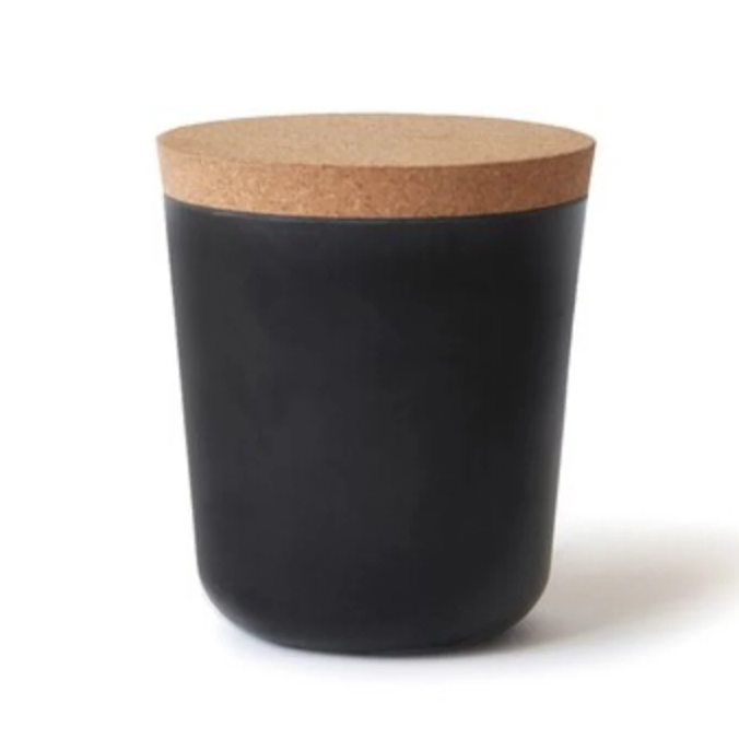 Biobu Claro Storage Jar in Black