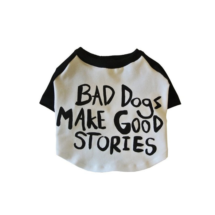 EYE OF DOG | Bad Dogs Make Good Stories T-Shirt