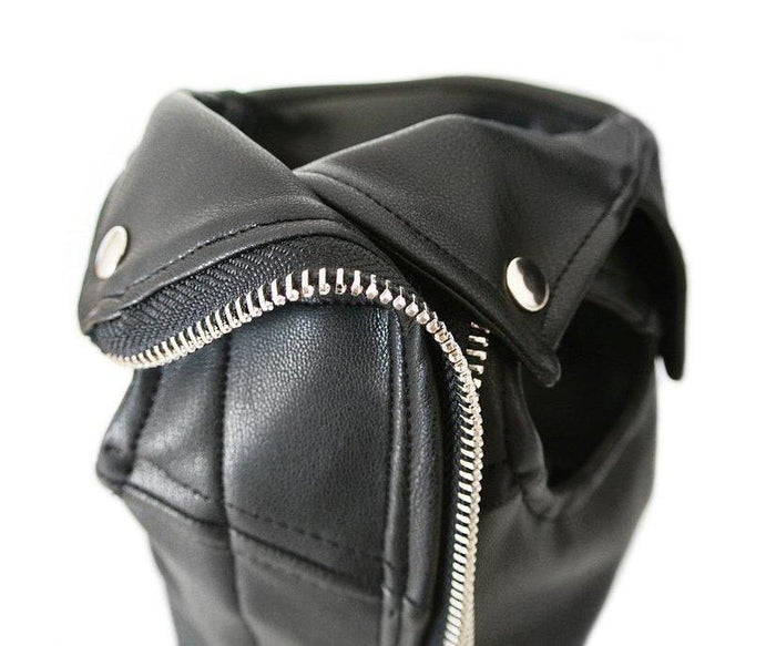 EYE OF DOG | Vegan Leather Moto Vest