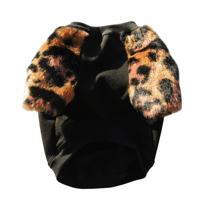 EYE OF DOG | Primal Faux Fur Top