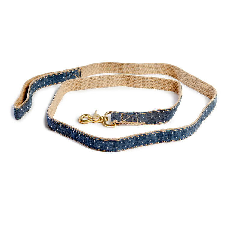FINNEGAN'S STANDARD GOODS | Denim Pin Dot Lead