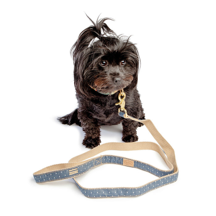 FINNEGAN'S STANDARD GOODS | Denim Pin Dot Harness