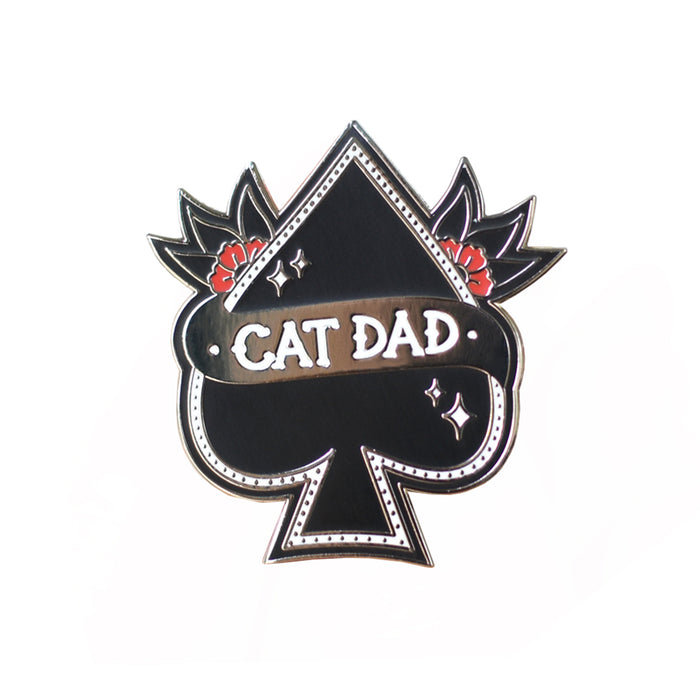 FIVE15 | Cat Dad Enamel Pin