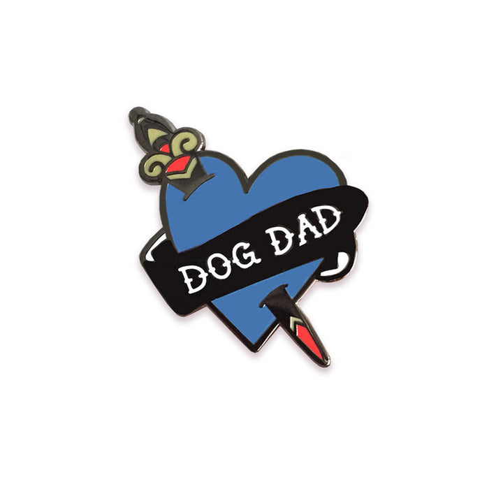 FIVE15 | Dog Dad Enamel Pin