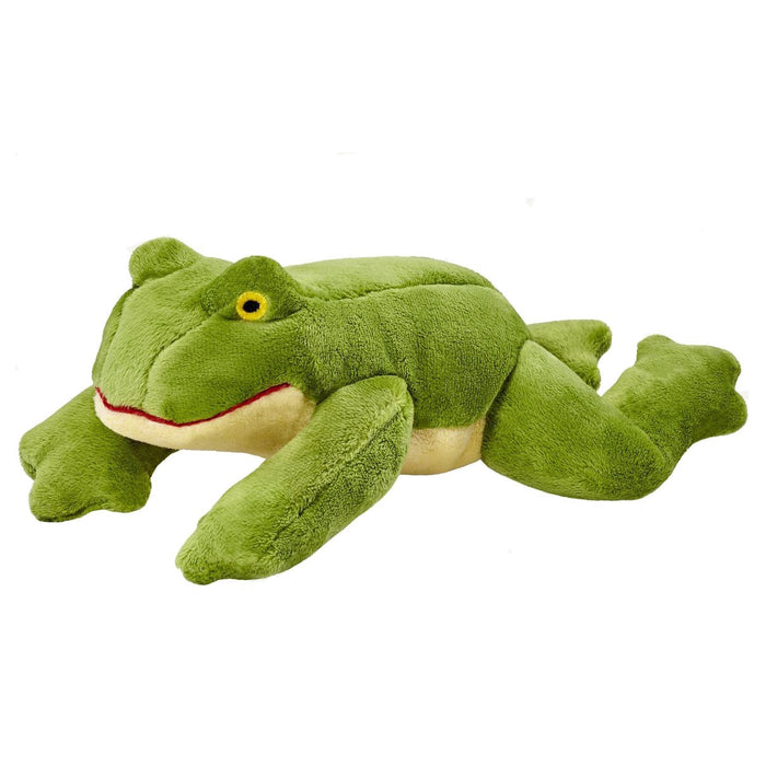 FLUFF & TUFF | Olive Frog Dog Toy