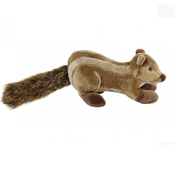 Peanut the Squirrel Plush Dog Toy