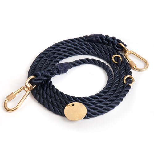 FOUND MY ANIMAL | Adjustable Rope Lead in Navy