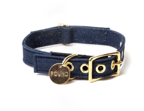 FOUND MY ANIMAL | Dark Denim Collar