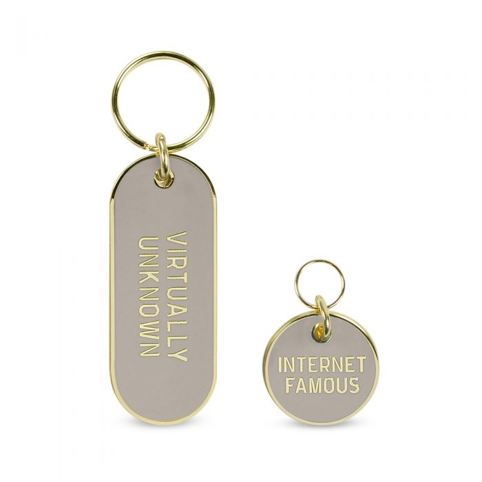 FRED & FRIENDS | Internet Famous Tag and Keychain Set