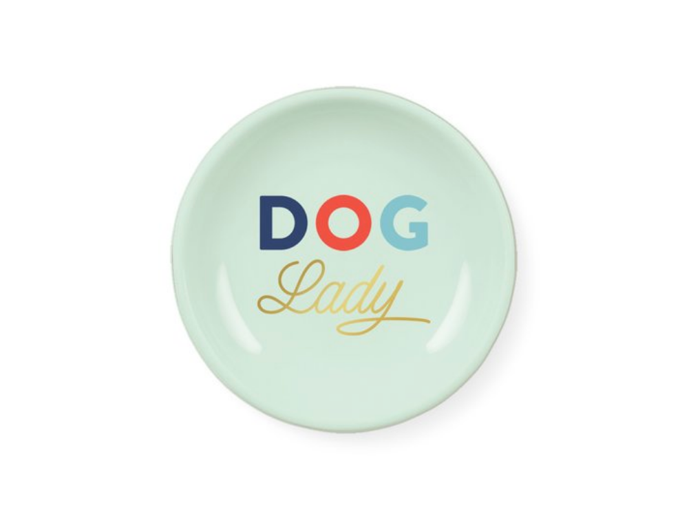 FRINGE STUDIO | Dog Lady Round Tray