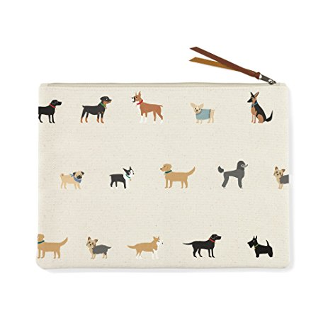 FRINGE STUDIO | Happy Breeds Canvas Pouch