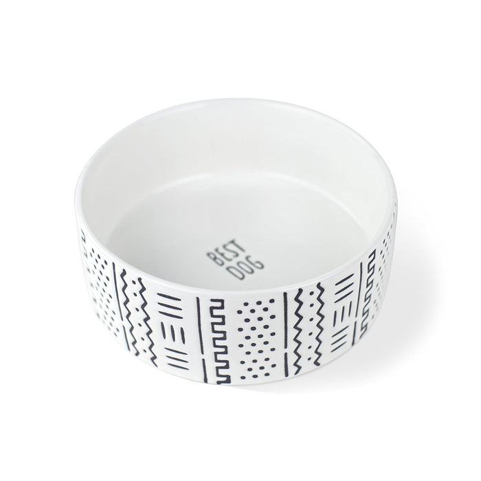 FRINGE STUDIO | Mudcloth Dog Bowl