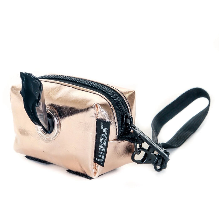 FYDELITY | Poopy Cute Poop Bag Holder in Rose Gold