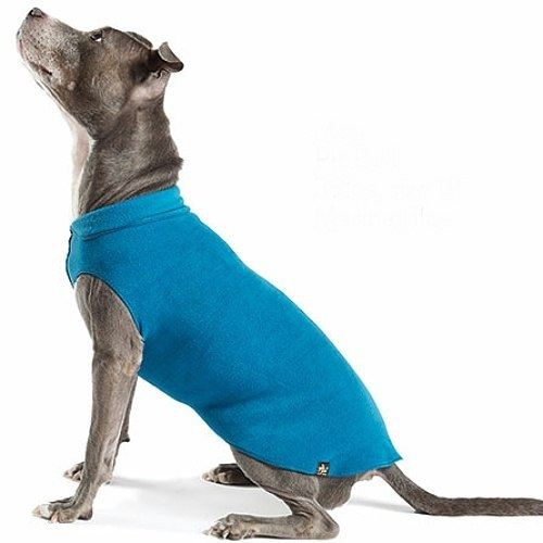 GOLD PAW | Stretch Fleece in Marine Blue