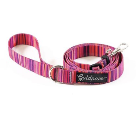 GOLD PAW | Adjustable Leash in Sunset