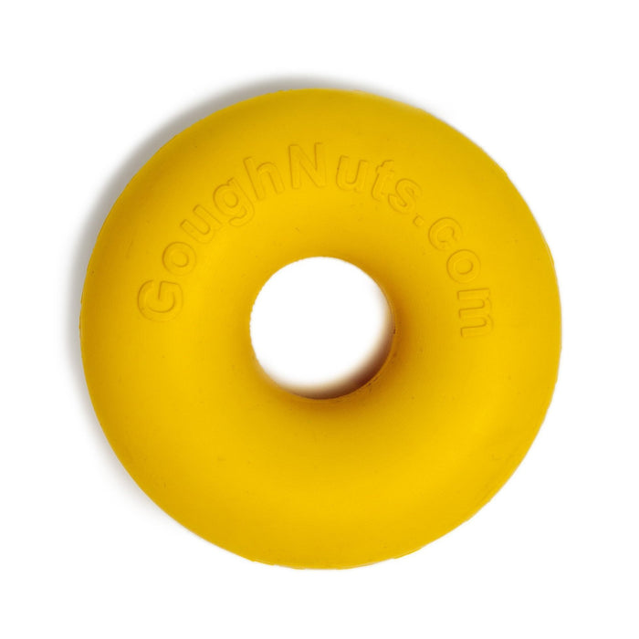 GOUGHNUTS | Small Ring Toy in Yellow