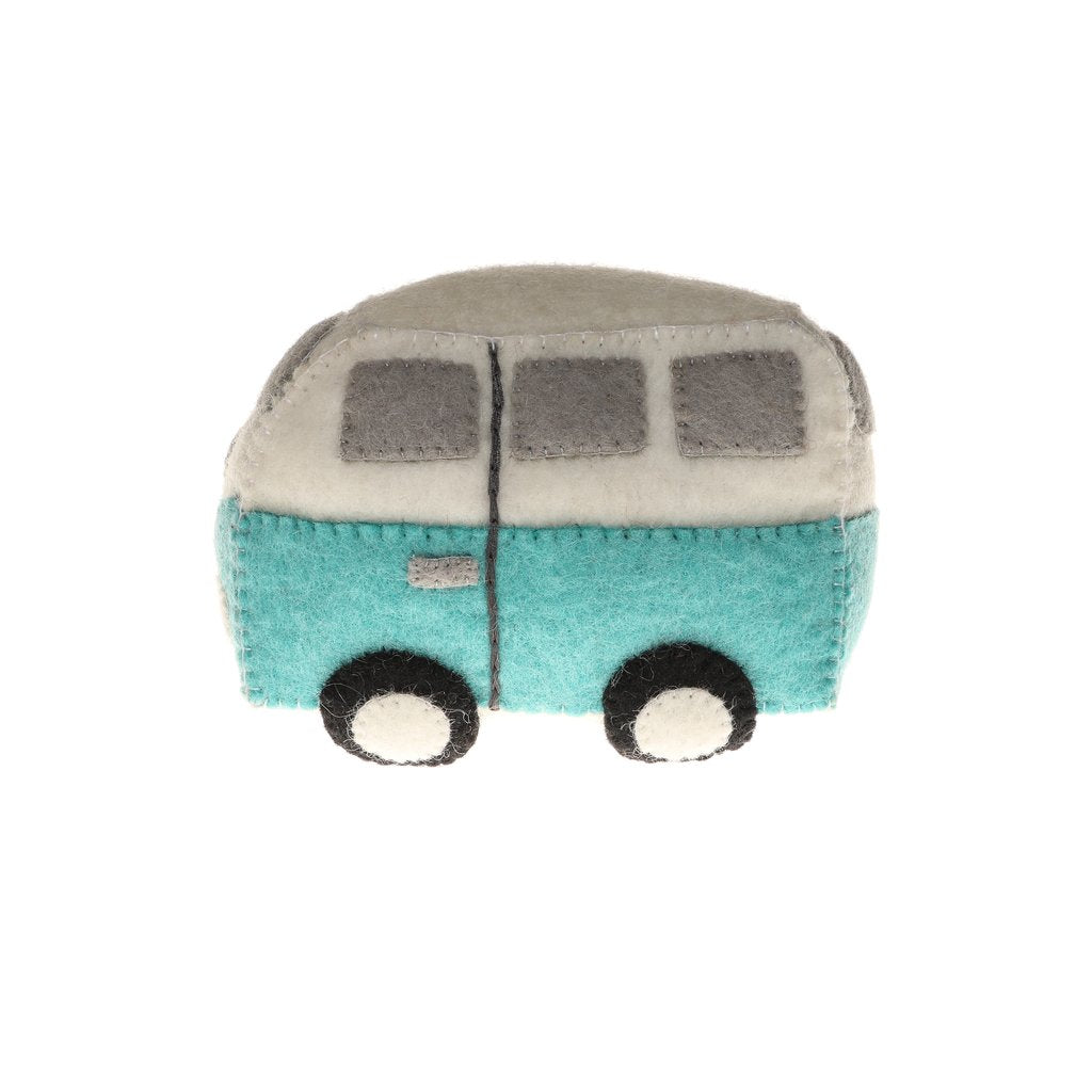 GLOBAL GOODS | Felt Hippie Van Toy