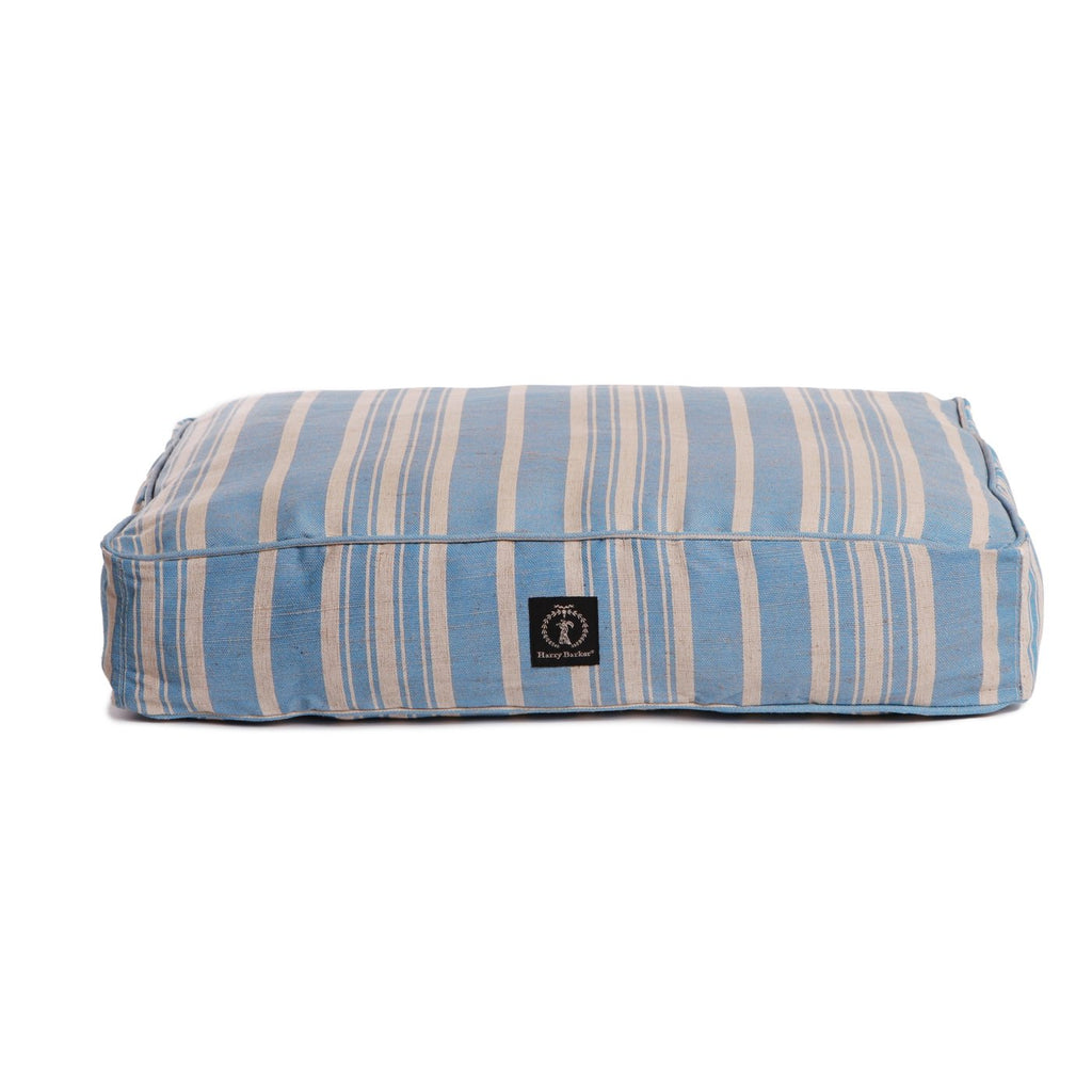 HARRY BARKER | Classic Stripe Rectangular Bed in Blue