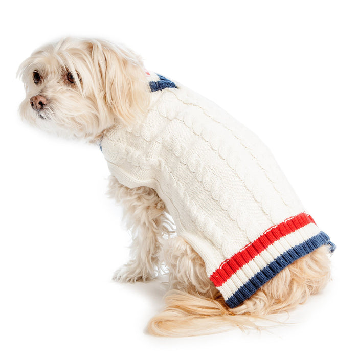 HARRY BARKER | Tennis Sweater in Cream